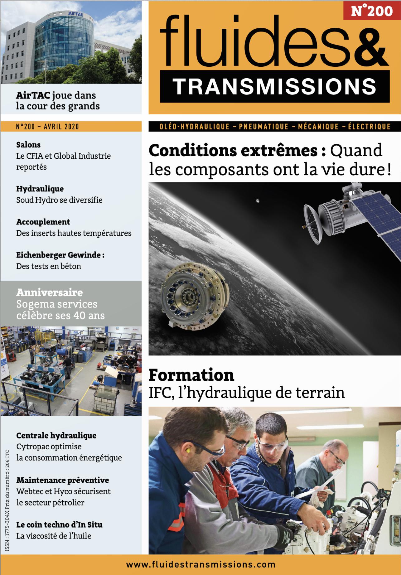 magazine Fluides & Transmissions Numéro 200