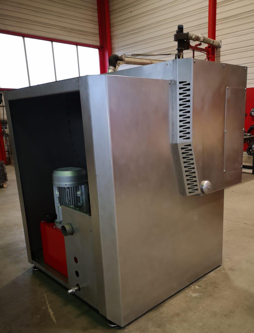 Etude, conception et fabrication d'une machine prototype innovante destinée à l'agroalimentaire.